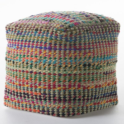 Madrid Pouf Sage - Christopher Knight Home