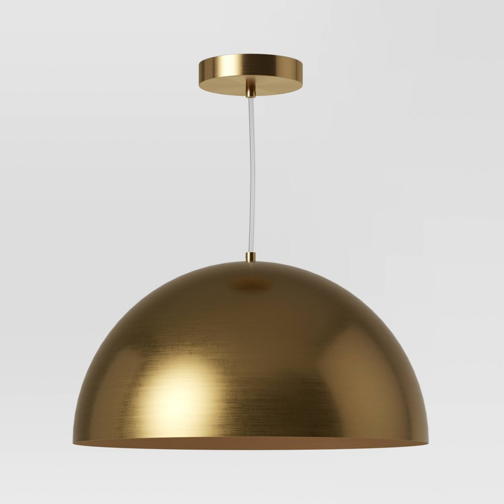 Image of Valencia Pendant Lamp Brass (Lamp Only) - Project 62 , Gold