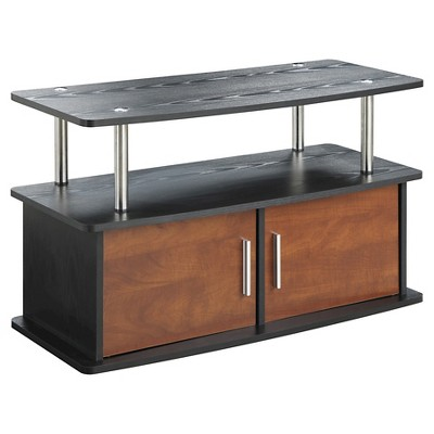 "Designs2Go Deluxe 2 Door TV Stand 36"" - Convenience Concepts"
