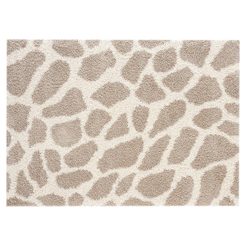 8'X10' Animal Print Area Rug Taupe Brown - Balta Rugs, Brown Off-White