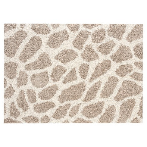 8 X10 Giraffe Area Rug Taupe Brown Balta Rugs