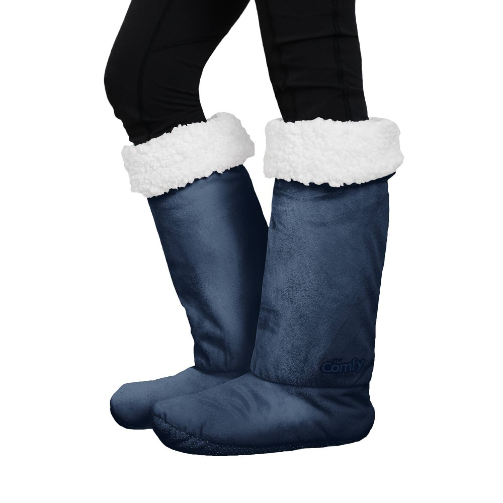 The Comfy Feet M/L Navy, Blue was $19.99 now $9.99 (50.0% off)