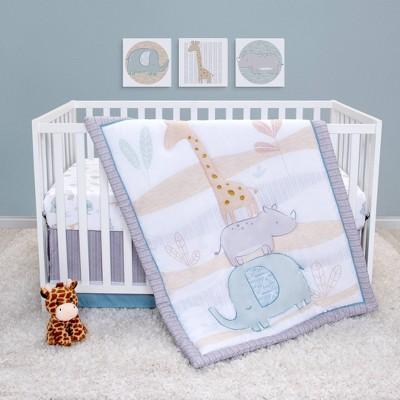 Sammy & Lou Safari Baby Crib Bedding Set - 4pc