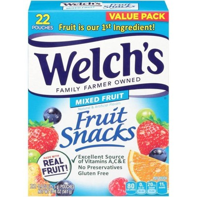 Welch's Mixed Fruit Snacks - 19.8oz/22ct