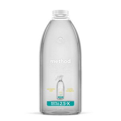 Method Cleaning Products Daily Shower Cleaner Refill Eucalyptus Mint - 68 fl oz