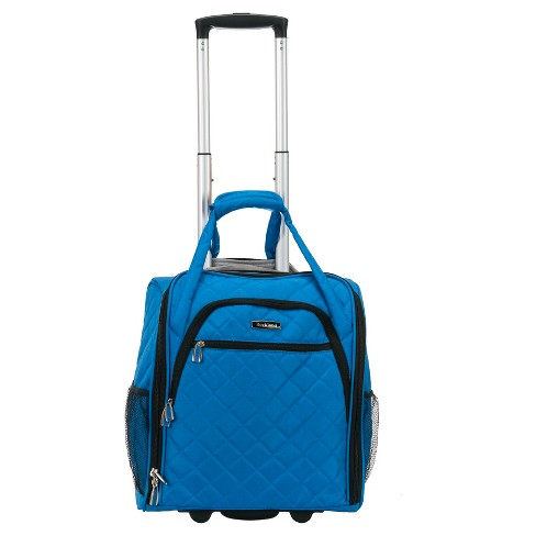Rockland 15 Rolling Underseat Carry On Suitcase