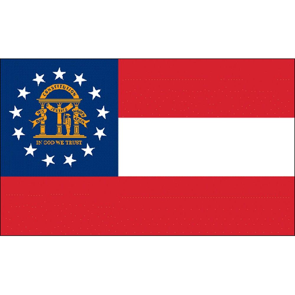 Georgia State Flag 4 X 6