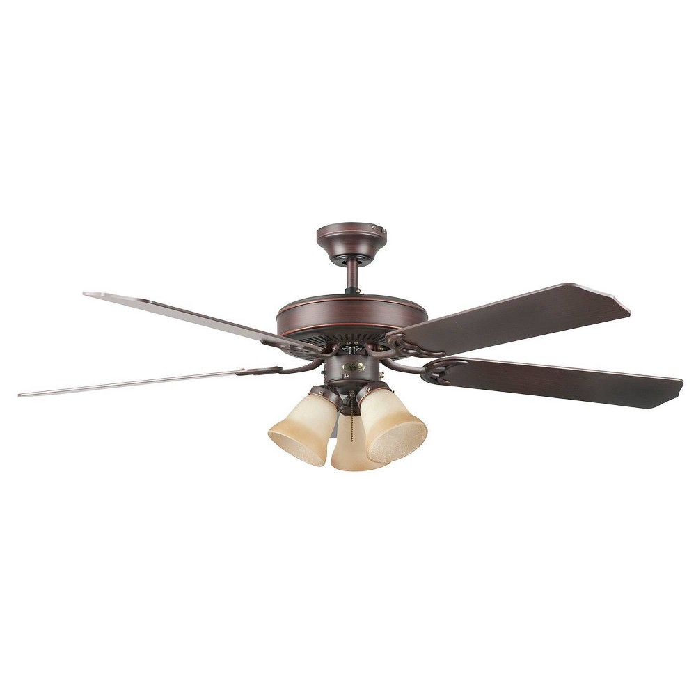 "Image of ""52"""" Heritage Home Ceiling Fan Bronze - Concord Fans"""
