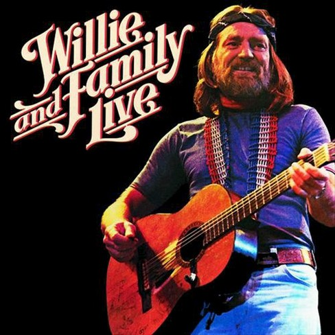 Willie Nelson - Willie Nelson & Family Live (CD) - image 1 of 1