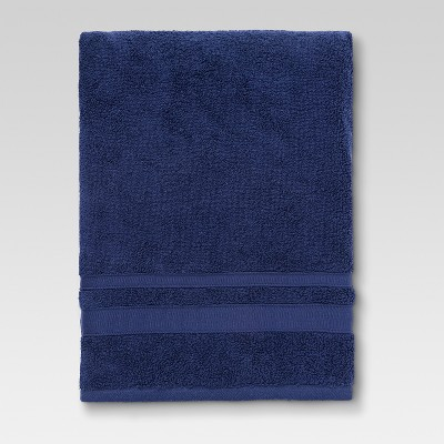 Performance Bath Sheet Navy Blue - Threshold™