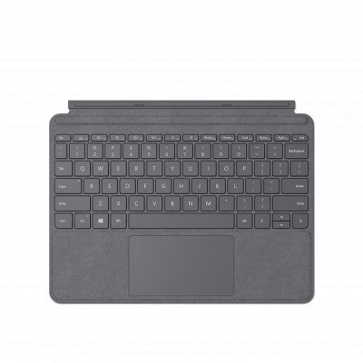 Microsoft Surface Go Signature Type Cover Platinum - Pair w/ Surface Go - A full keyboard experience - Close to protect screen & conserve battery