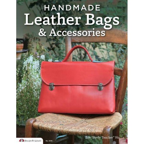 Handmade Leather Bags & Accessories - (Design Originals) by  Elean Ho (Paperback) - image 1 of 1