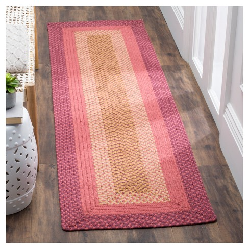 Color Block Woven Area Rug 8 X10 Safavieh Target