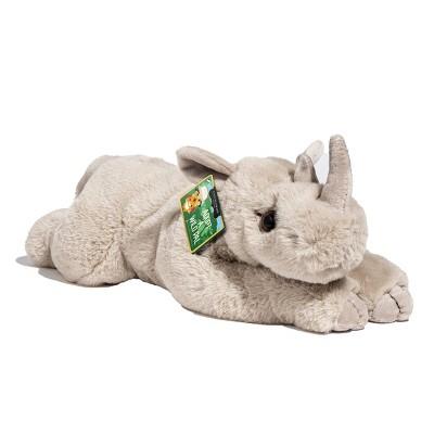 "FAO Schwarz Adopt A Wild Pal Endangered Rhino - 15"" Toy Plush"