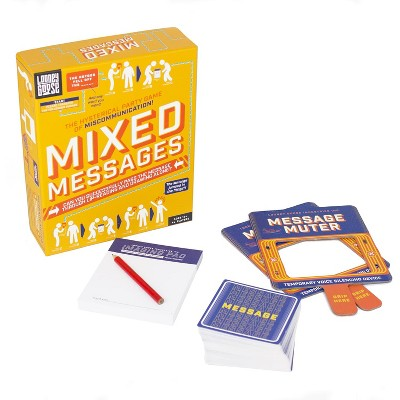 Professor Puzzle Mixed Messages Lip Reading And Drawing Party Game