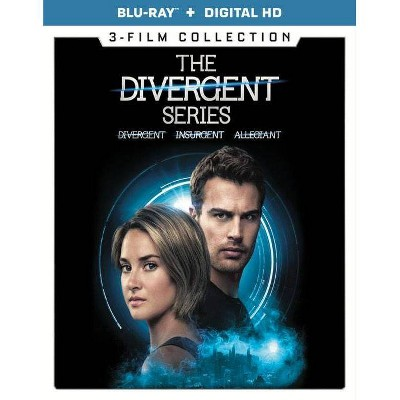 The Divergent Series: 3-Film Collection (Blu-ray)