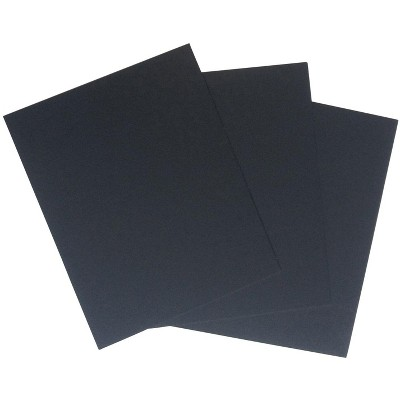 Crescent Acid-Free Mat Board, 11 x 14 Inches, Black, pk of 40