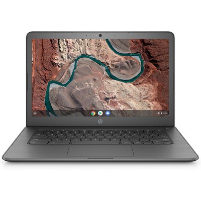 "HP 14 14"" Chromebook AMD A4 4GB RAM 32GB eMMc Chalkboard Gray - AMD A4-9120C APU Dual-core - 100GB Google Drive Included - AMD Radeon R3 Graphics"