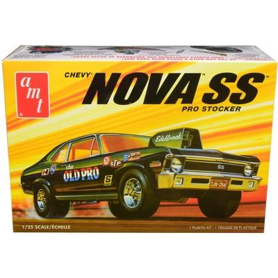"Skill 2 Model Kit 1972 Chevrolet Nova SS ""Pro Stocker"" 1/25 Scale Model by AMT"