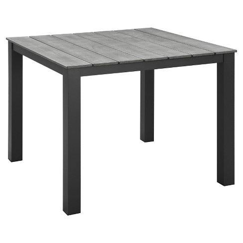 "Maine 40"" Rectangular Outdoor Patio Dining Table - Modway - image 1 of 3"