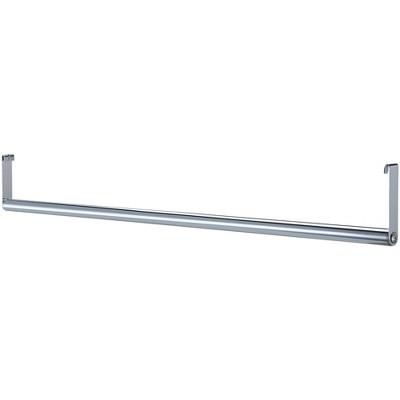"Lorell Garment Hanger Bar f/ Industrial Shelving 48"" Chrome 69876"