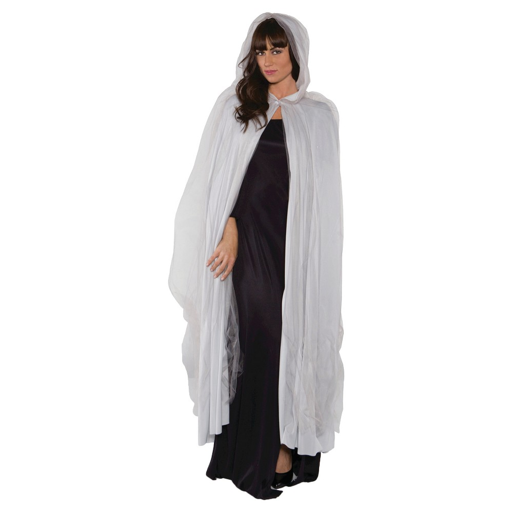 Adult Costume Ghost Cape, Women's, Gray