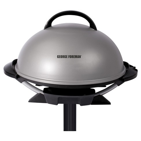 George Foreman 15 Serving Indoor/Outdoor Electric Grill - Silver GFO240S - image 1 of 4