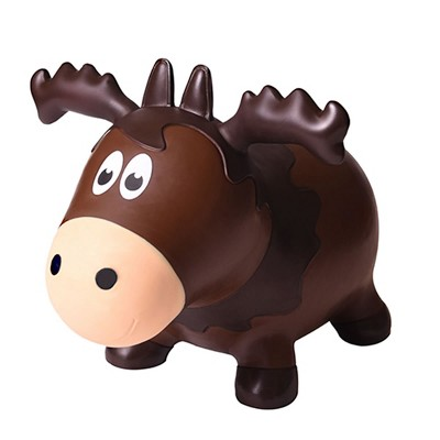 Farm Hoppers Wildlife Inflatable Bouncing Moose