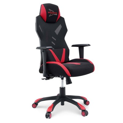 Speedster Mesh Gaming Computer Chair Black/Red - Modway