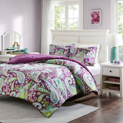 Kayla Reversible Comforter Mini Set