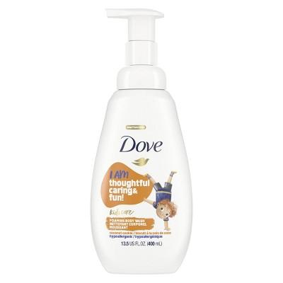 Dove Kids Care Hypoallergenic Foaming Body Wash Coconut Cookie - 13.5 fl oz