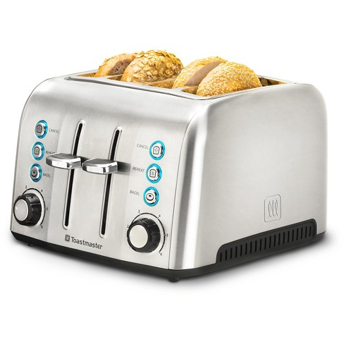 Toastmaster 4 Slice Stainless Steel Toaster - image 1 of 7