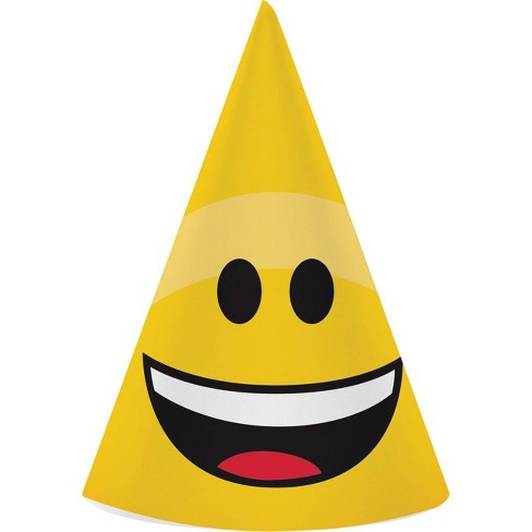 24ct Show Your Emojions Party Hats - image 1 of 4