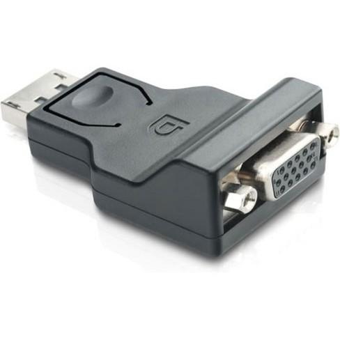 Comprehensive DisplayPort Male to VGA Female Adapter - 1 x DisplayPort Male Digital Audio/Video - 1 x HD-15 Female VGA - 1920 x 1200 Supported - image 1 of 1