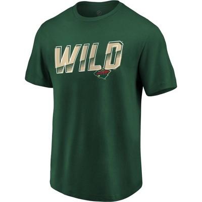 NHL Minnesota Wild Men's Engage Horizon Short Sleeve T-Shirt