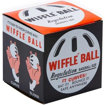 "Wiffle Ball 9"" Original Regulation Baseball Size Curve Training Plastic Ball"