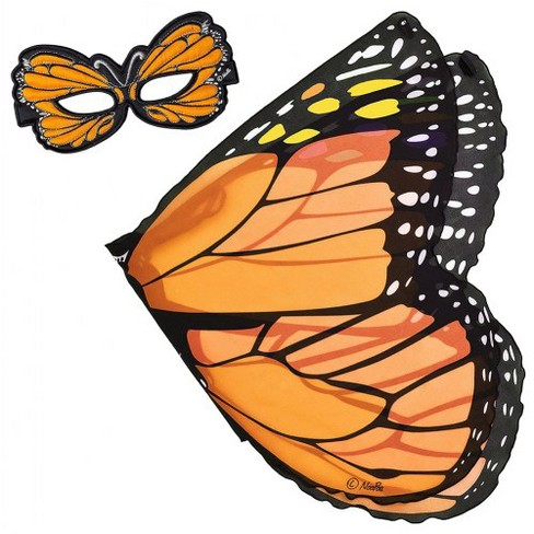 Douglas Monarch Butterfly Wings and Mask Set - Orange - image 1 of 4