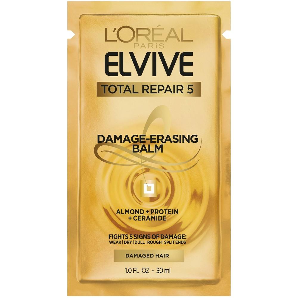 Image of L'oréal Paris Elvive Total Repair 5 Damage-Erasing Balm - 1 fl oz