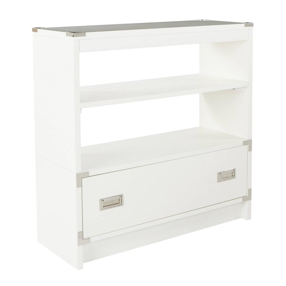 36 34 Wellington Bookcase White Osp Home Furnishings