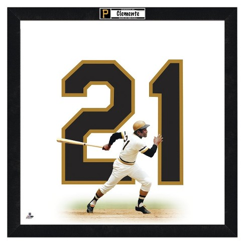 Pittsburgh Pirates Roberto Clemenete Framed Uniframe - image 1 of 3