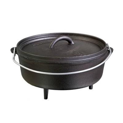 Camp Chef 4qt Classic Cast Iron Standard Dutch Oven - Black