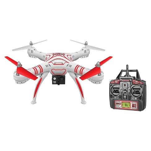 Wraith Spy Drone 1080p HD Video Camera 2.4GHz 4.5CH RC Quadcopter - image 1 of 1