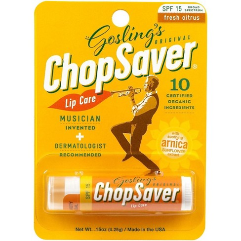 ChopSaver Gold Lip Balm with SPF Protection - image 1 of 1