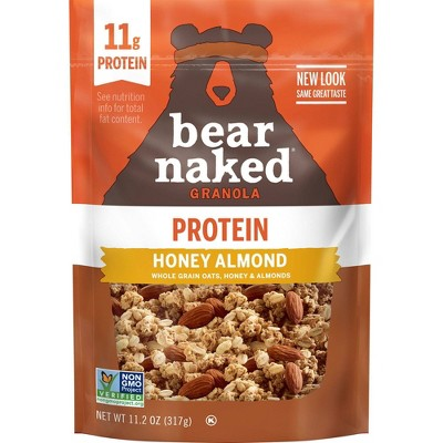Bear Naked Honey Almond Soft Baked Granola - 11.2oz