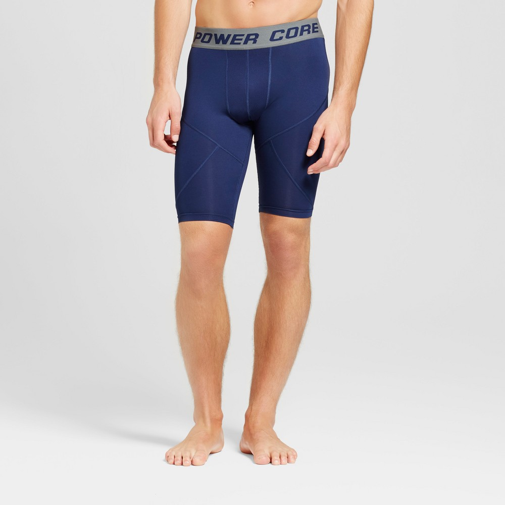 Men's 11 Compression Shorts - C9 Champion Dark Night Blue L