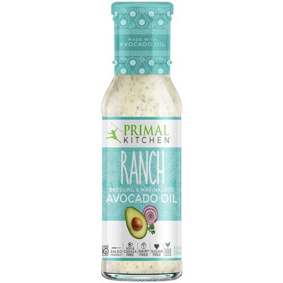 Salad Dressing & Toppings: Primal Kitchen Ranch Dressing