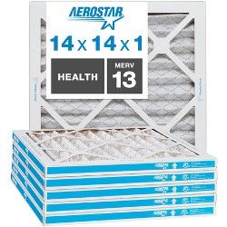 Aerostar AC Furnace Air Filter - Health - MERV 13 - Box of 6