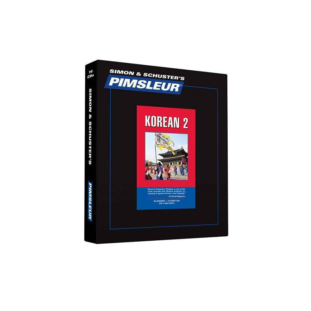 Pimsleur Korean Level 2 CD - (Comprehensive)(AudioCD)