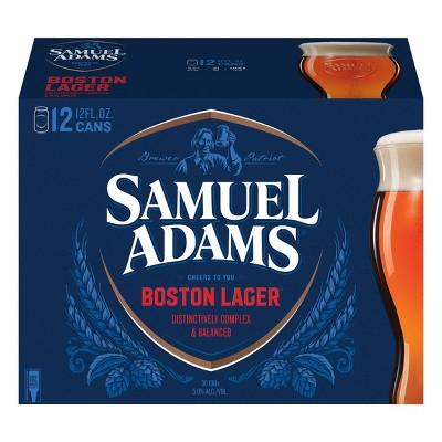 Samuel Adams Boston Lager Beer - 12pk/12 fl oz Cans
