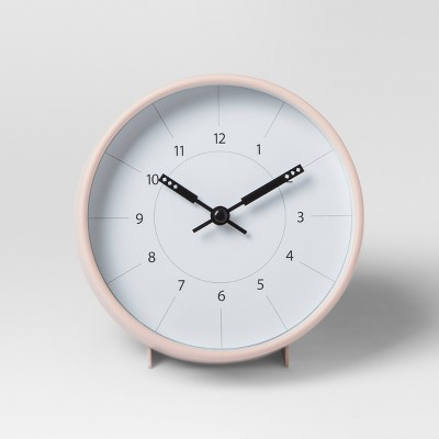 Decorative Table Tope Clock   Blush   Project 62™ by Shop This Collection